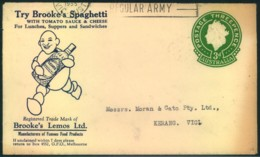 "1955, AUSTRALIA: Ncie Advertising Cover ""Try Brookeś Spaghetti"" - Alimentazione"