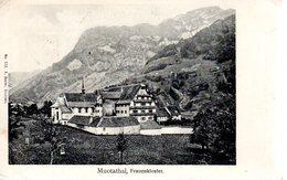 MUOTATHAL  -  Frauenkloster  -  Dos Non Divisé - SZ Schwyz