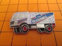 1318a Pins Pin's / Rare & TB état / THEME : AUTOMOBILES / CAMION RALLYE ROTHMANS LEGER RELIEF - Rallye