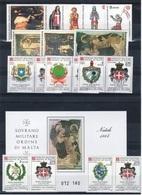 S.M.O.M 1984 Annata Completa + PA ** MNH / VF - Sovrano Militare Ordine Di Malta