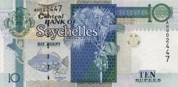 SEYCHELLES P. 42 10 R 2013 UNC - Seychelles