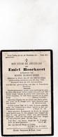 E.BANCKAERT °URSEL 1882  +1930 (M.DOBBELAERE) - Devotion Images