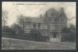+++ CPA - A/A - Nassogne - FORRIERES - Château De M. Bounameau   // - Nassogne