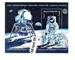 BULGARIA / Bulgarie 1990 Space Research  S/S - Used/oblitere (O) - Bulgaria