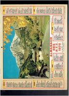 CALENDRIER 1978 PAYS DU MONT BLANC JARDIN EN PAYS DE LOIRE ALMANACH DES P.T.T. - Calendriers