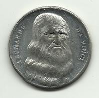 Italia - Medaglia Leonardo Da Vinci - Italia