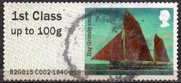 GREAT BRITAIN 2015 Post & Go: Working Sail. Stag (Grimsby Smack) - Great Britain