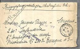 Lettre Du 09 011916 ( Avec Correspondance) De Châlons Sur Marne à Un Prisonnier De Guerre Au Camp De Ohrdruf In Thuringe - Militaria