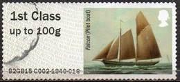GREAT BRITAIN 2015 Post & Go: Working Sail. Falcon (Pilot Boat) - Great Britain