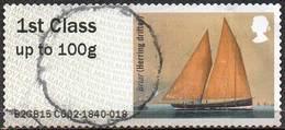 GREAT BRITAIN 2015 Post & Go: Working Sail. Briar (Herring Drifter) - Great Britain