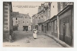 SAINT ETIENNE DE MONTLUC - PLACE DE L'EGLISE, NORD OUEST - 44 - Saint Etienne De Montluc