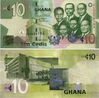 GHANA       10 Cedis       P-39[g]       4.8.2017        UNC - Ghana