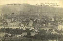 63 - CLERMONT FERRAND / VUE GENERALE DES USINES MICHELIN / A 458 - Clermont Ferrand