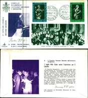 12106a)F.D.C.serie Concilio Ecumenico Vaticano II- 23-10-63 SESSIONE II-PAOLO VI - FDC