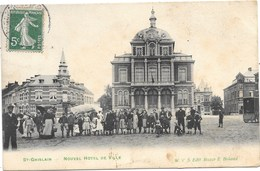 St-Ghislain NA28: Nouvel Hôtel De Ville 1908 - Saint-Ghislain