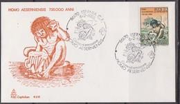 Italy FDC Dinosauri Dinosaurs Prehistoric Animals - Stamps