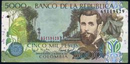 Ref. 482-875 - BIN COLOMBIA . 1995. 5000 PESOS COLOMBIA 1995 - Colombia
