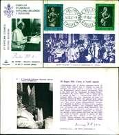 12107a)F.D.C.serie Concilio Ecumenico Vaticano II- 16-10-63 SESSIONE II-PAOLO VI - FDC