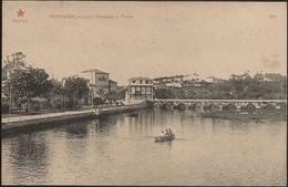 Postal Portugal - Porto - Leça Da Palmeira - Alameda E Ponte (Ed. Registada Da Estrela Vermelha, Nº 106) - CPA - Porto