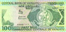 Ref. 627-1026 - BIN VANUATU . 1982. 100 VATU VANUATU 1982 - Vanuatu
