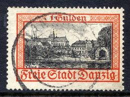 DANZIG 1938 1 G. Oliva With Swastika Watermark, Used.  Michel 297 - Danzig