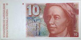 Ref. 623-1095 - BIN SWITZERLAND . 1979. 10 FRANCS SWITZERLAND 1981 SUIZA - Suiza