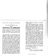 M.DE DOBBELAERE °BELLEM 1921 +KORTRIJK 1973  (V.VAN RYSSEL) - Devotion Images