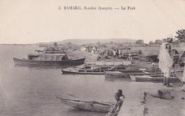SOUDAN FRANCAIS : MALI : BAMAKO  Le Port - Mali