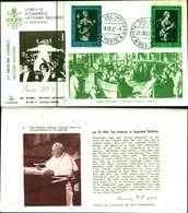 12108a)F.D.C.serie Concilio Ecumenico Vaticano II- 18-10-63 SESSIONE II-PAOLO VI - FDC