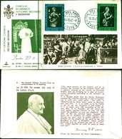 12109a)F.D.C.serie Concilio Ecumenico Vaticano II- 14-10-63 SESSIONE II-PAOLO VI - FDC