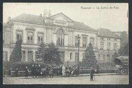 +++ CPA - TORHOUT - THOUROUT - La Justice De Paix - Carte Animée - Cachet Militaire Feldpost   // - Torhout