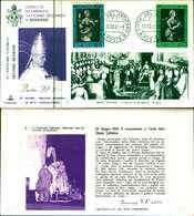 12110a)F.D.C.serie Concilio Ecumenico Vaticano II- 10-10-63 SESSIONE II-PAOLO VI - FDC