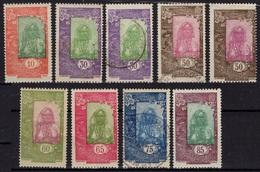 COTE DES SOMALIS Poste 122 125 127 128 129 132 * MLH Et 125 127 130 (o) Femme Somalienne (CV 6 €) - Unused Stamps