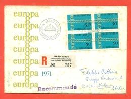 EUROPA - EUROPE- LIECHTENSTEIN 1971 - FDC