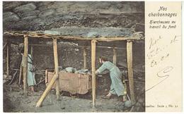 Nos Charbonnages - Hiercheuses Au Travail Du Fond - Mines