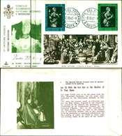 12113a)F.D.C.serie Concilio Ecumenico Vaticano II- 3-10-63 SESSIONE II-PAOLO VI - FDC