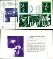 12114a)F.D.C.serie Concilio Ecumenico Vaticano II- 1-10-63 SESSIONE II-PAOLO VI - FDC