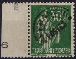 FRANCE Préo  69 ** MNH Semeuse Lignée (CV 8500 €) : Faux - Forgery - Falsch - Préoblitérés