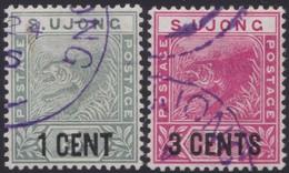 Sungei Ujong    .   SG     .    53/54     .      O         .     Cancelled      .   /    .  Gebruikt - Gran Bretaña (antiguas Colonias Y Protectorados)