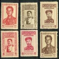 Indochine (1943) N 236 à 241 * (charniere) - Indochine (1889-1945)