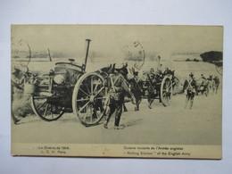CUISINE  ROULANTE DE L'ARMEE   ANGLAISE .....  .....          TRES ANIME     TTB - Guerre 1914-18