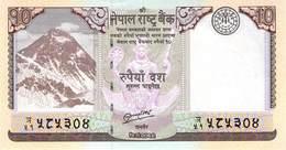 10 Rupee Nepal UNC 2012 - Nepal