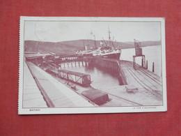 Matadi Le Pier D Accostage     Ref 3416 - Belgian Congo - Other