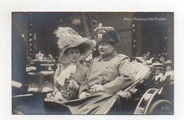 U3275/ Prinz Und. Prinzessin Eitel Friedrich Foto AK 1910 - Familles Royales