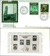 12116a)F.D.C.serie Concilio Ecumenico Vaticano II- 6-12-65 SESSIONE IV-PAOLO VI - FDC