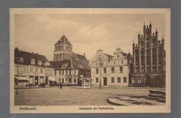 U3281-174./ Greifswald Marktplatz AK Ca.1912 - Unclassified
