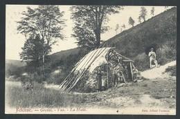 +++ CPA - Beauraing - FELENNE - Grenai - Vux - La Hutte - Cachet Relais 1907  // - Beauraing