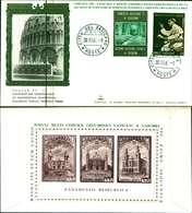 12117a)F.D.C.serie Concilio Ecumenico Vaticano II 30-11-65 SESSIONE IV-PAOLO VI - FDC
