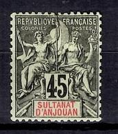 Anjouan YT N° 18 Neuf *. B/TB. A Saisir! - Anjouan (1892-1912)
