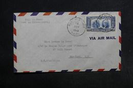 HAÏTI - Enveloppe De Port Au Prince Pour New York En 1940 , Affranchissement Plaisant - L 32166 - Haïti